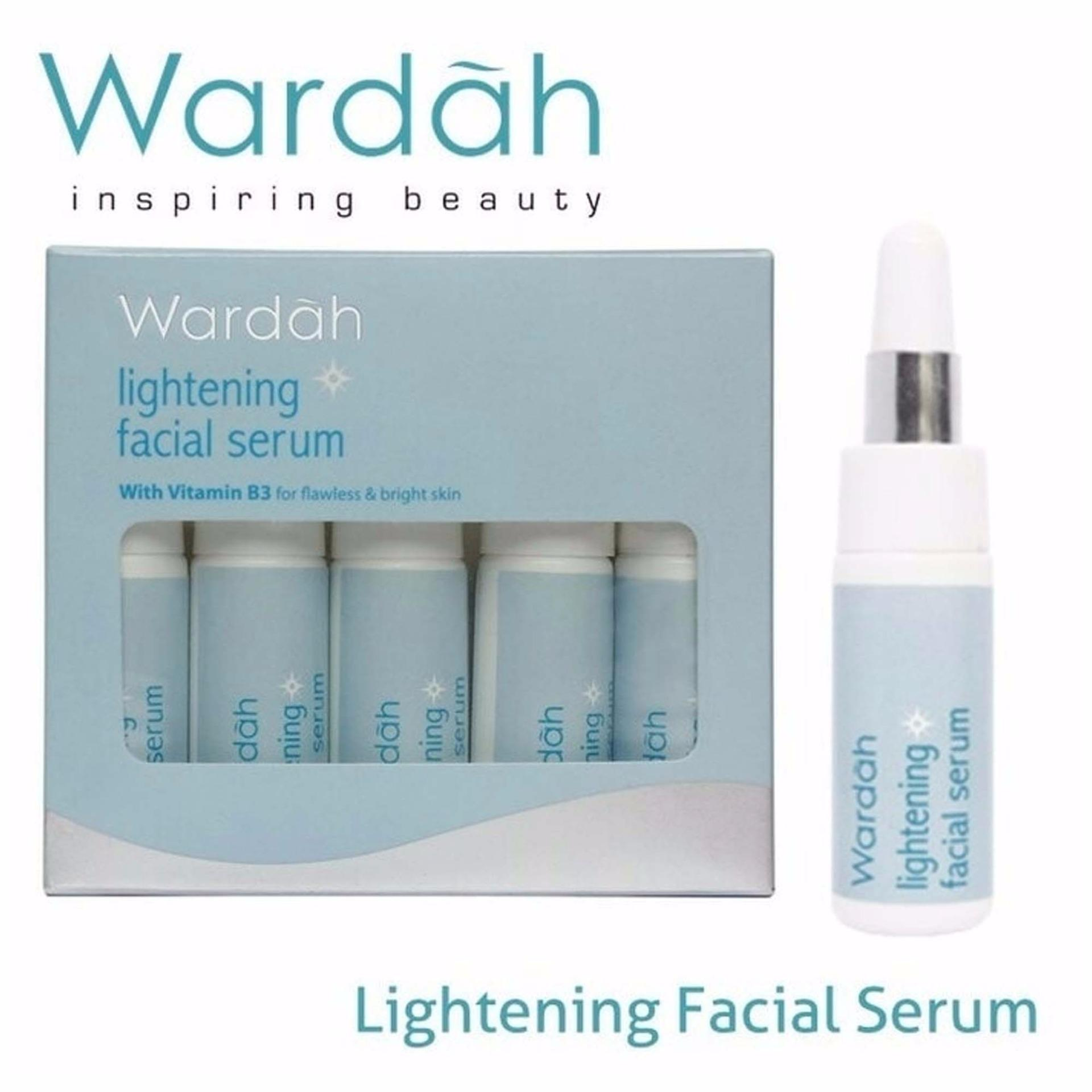 Jual Cepat Wardah Lightening F*c**l Serum 5 Botol 5 Ml